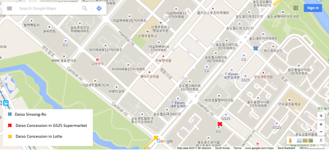 Daiso Locations