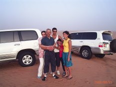 Family Holiday, Dubai 2004